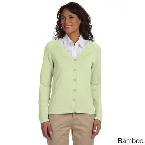 Women's Solid Six-button Cardigan