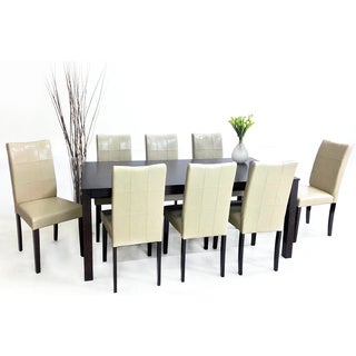 Eveleen 9-piece Chalk Dining Furniture Set