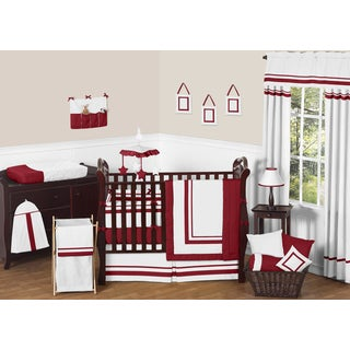 Sweet Jojo Designs Modern 9-piece Crib Bedding Set