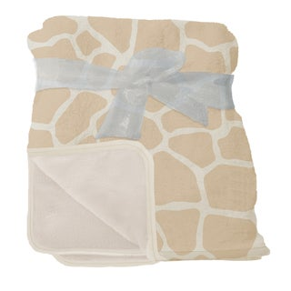 Nurture Imagination Giraffe Plush Blanket