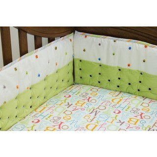Nurture Imagination My ABC's Airflow Crib Bumper