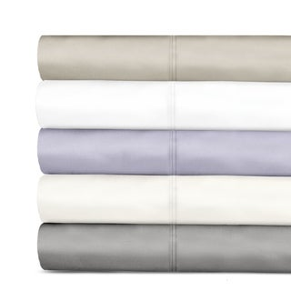 Veratex 600 Tencel Thread Count Sateen Solid Sheet Set