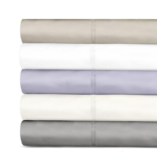 18c7d866d7d9 Shop Veratex 600 Tencel Thread Count Sateen Solid Sheet Set - Free ...