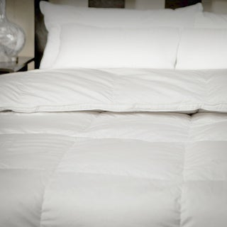 CozyClouds by DownLinens Deluxe White Goose Down Comforter