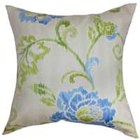 Jarrah Floral Down Fill Throw Pillow Springtime