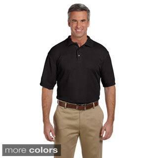 Men's 5-ounce Blend-Tek Polo Shirt|https://ak1.ostkcdn.com/images/products/9032478/Mens-5-ounce-Blend-Tek-Polo-Shirt-P16231868.jpg?impolicy=medium