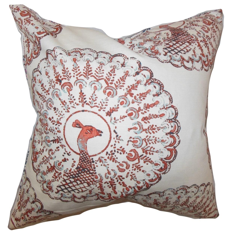 Ieesha Animal Down Filled Throw Print Pillow (20-Inch)