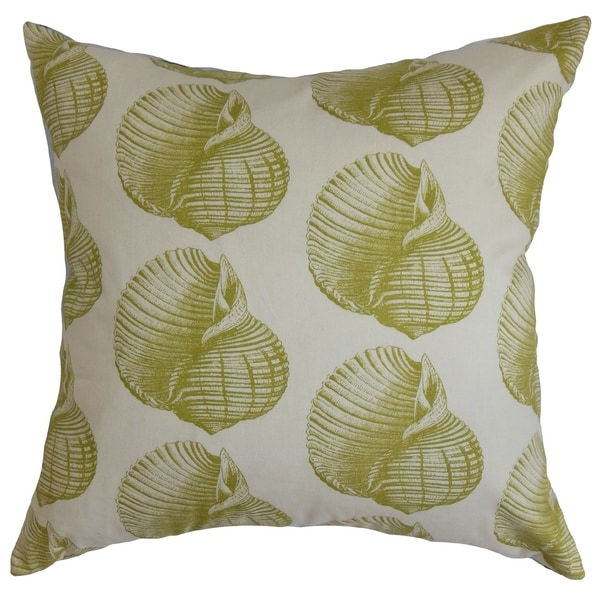 Bahari Aquatic Kiwi Down Filled Throw Pillow