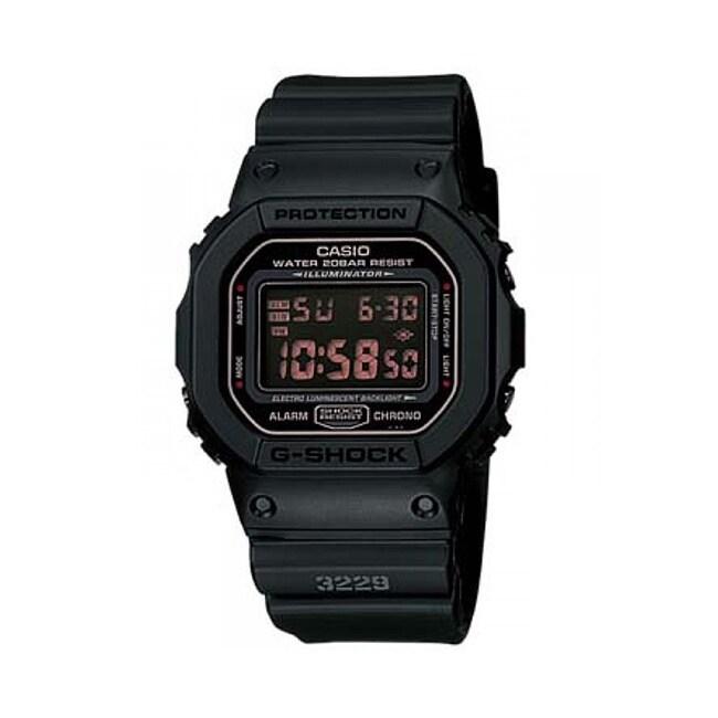 Casio G-Shock' Men's Black Resin Digital Watch (Black), S...