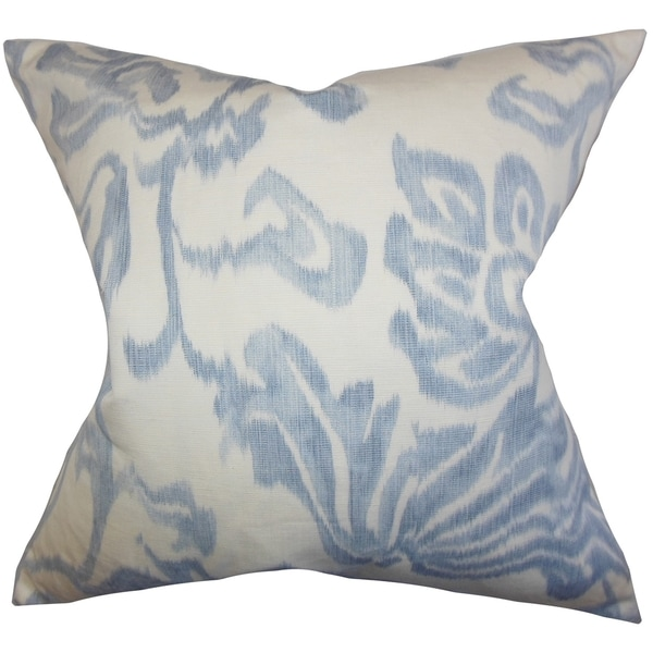 Idony Blue Floral Down Filled Throw Pillow - Free Shipping Today - Overstock.com - 16232272