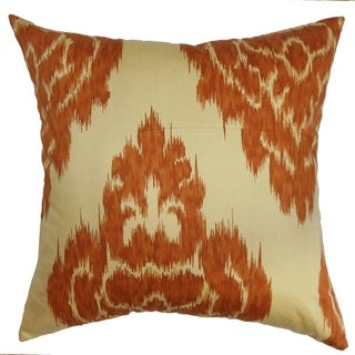 Ajayi Spice Ikat Down Filled Throw Pillow