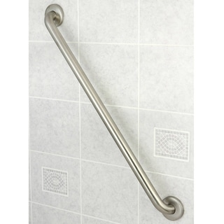 ADA-compliant 30-inch Stainless Steel Grab Bar - Silver