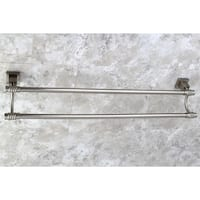 Fortress Satin Nickel 24-inch Double Towel Bar