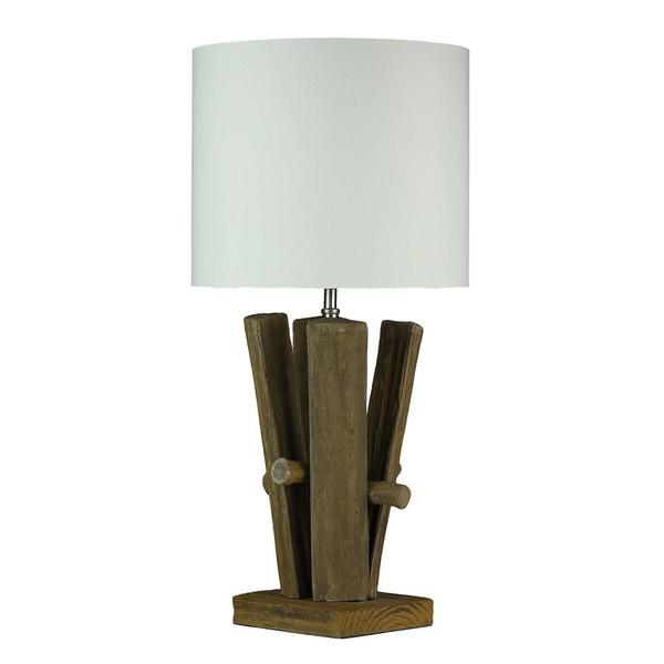 Cortesi Home Split Log Table Lamp