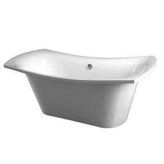Aquatica LoveMe-Wht Freestanding Cast Stone Bathtub
