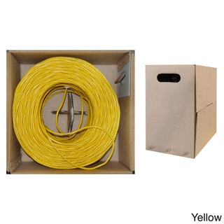 Offex CAT6 UTP 1000-foot Solid Bulk Cable