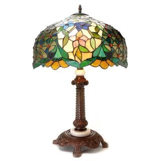 Warehouse of Tiffany Geodesic Table Lamp