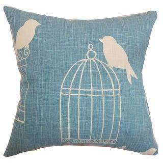 Alconbury Birds Aquadisiac Down Filled Throw Pillow