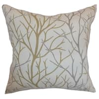 Fderik Trees Down Filled Throw Pillow Toffee