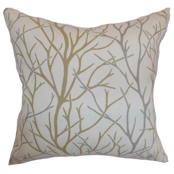 Fderik Trees Down Filled Throw Pillow Toffee