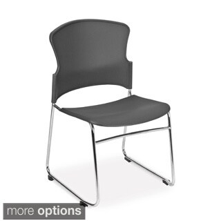 OFM Multi-use Plastic Seat and Back Stacker Chairs (Set of 40)