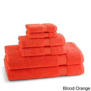 100-Percent Ring Spun Cotton Brights Collection 6-piece Towel Set