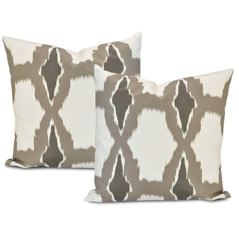 Exclusive Fabrics Sorong Printed Cotton Cushion Cover (Set of 2)