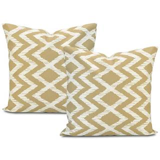 Exclusive Fabrics Palu Printed Cotton Cushion Cover (Set of 2)