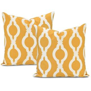 Exclusive Fabrics Medina Printed Cotton Cushion Cover (Set of 2)