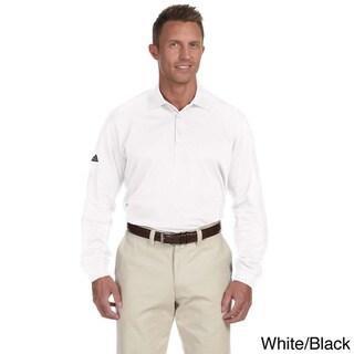 Adidas Men's ClimaLite Tour Long Sleeve Polo Shirt