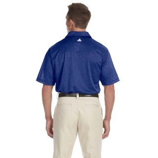 Adidas Men's ClimaLite Heathered Polo Shirt