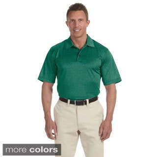 Adidas Men's ClimaLite Heathered Polo Shirt