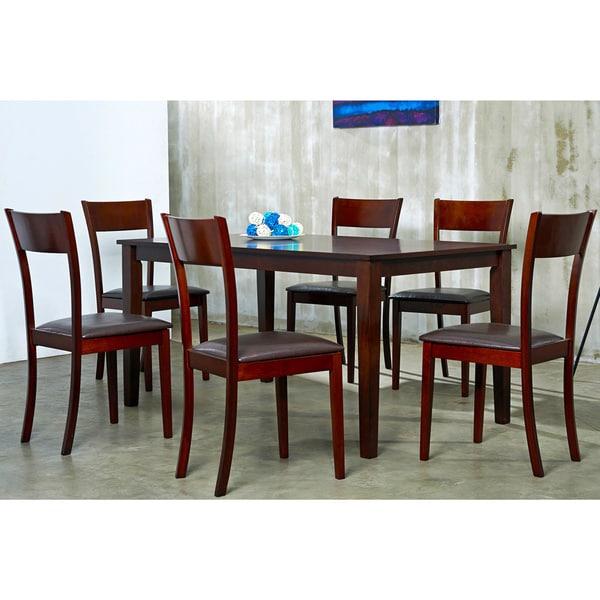 Warehouse of Tiffany Brown Ida 7-piece Dining Furniture Set