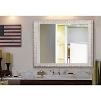 American Made Rayne French Victorian White Wall/ Vanity Mirror