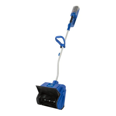 Snow Joe iON13SS iON 40-Volt Cordless 13-inch Brushless Snow Shovel with Rechargeable Ecosharp Lithium-Ion Battery