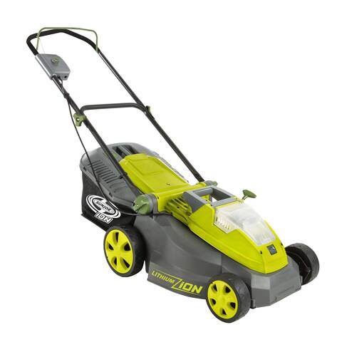 Sun Joe iON16LM Cordless Lawn Mower 16 inch 40V Brushless Motor