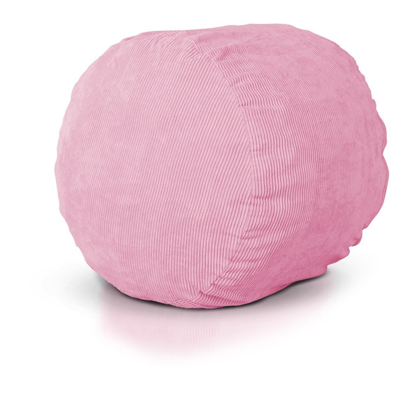 Shop Sachet Pink Round Foam Lounger Free Shipping Today