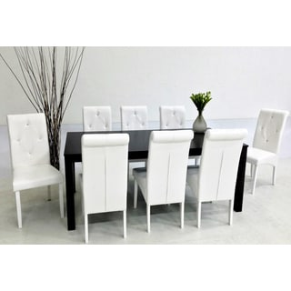 Warehouse of Tiffany Dita White 9-piece Dining Set