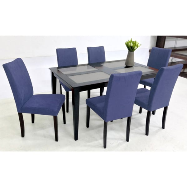 Warehouse of Tiffany Shino Blue 7 piece Glass Table Dining  : Warehouse of Tiffany Shino Blue 7 piece Glass Table Dining Set c914fc60 3b70 4d7a 8f96 bb0be3ab2469600 from www.overstock.com size 600 x 600 jpeg 25kB