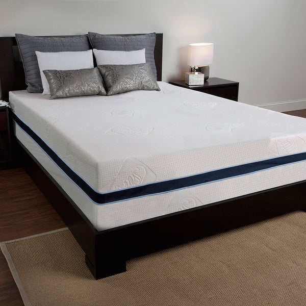 Shop Sealy 12 Inch King Size Memory Foam Mattress Free