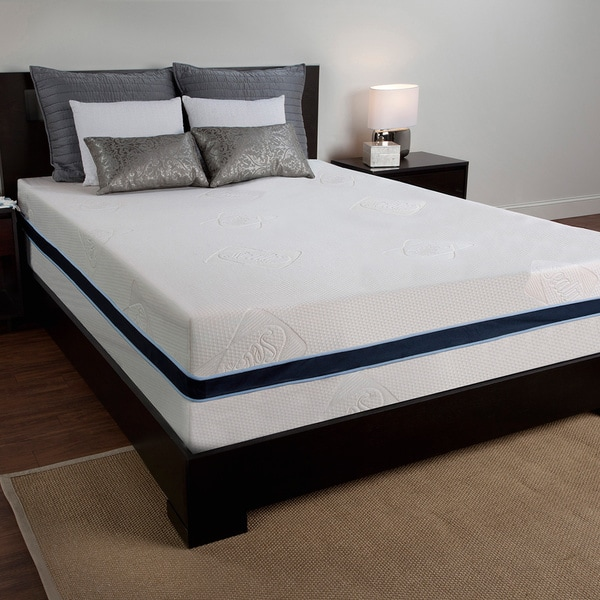 Sealy 12 inch king size memory foam mattress free shipping today 16233145 Memory foam king size mattress