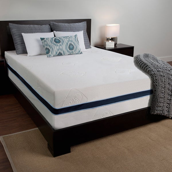 Sealy 14 Inch Queen Size Memory Foam Mattress Free