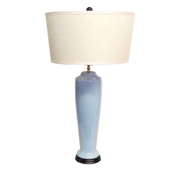Savannah Light Blue Porcelain Table Lamp