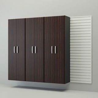 Flow Wall 4-piece Tall Cabinet Set