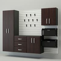 Flow wall 6 piece deluxe cabinet set free shipping today for Flow wall 48 bonus set