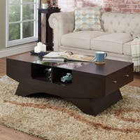 Porch & Den Sachs 2-drawer Contemporary Coffee Table