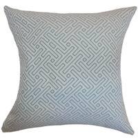 Qalanah Geometric Laguna Down Filled Throw Pillow