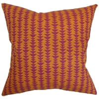 Jiri Mango Geometric Down Filled Throw Pillow