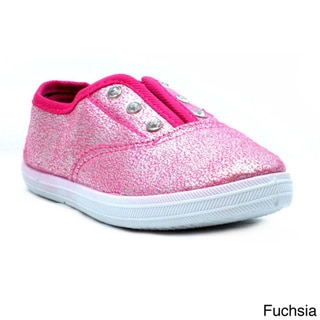 Blue Kids 'K-Ruler' Glittery Casual Shoes