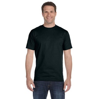 Hanes Men's Black Beefy-T Tall Undershirts (Set of 6) (5 options available)